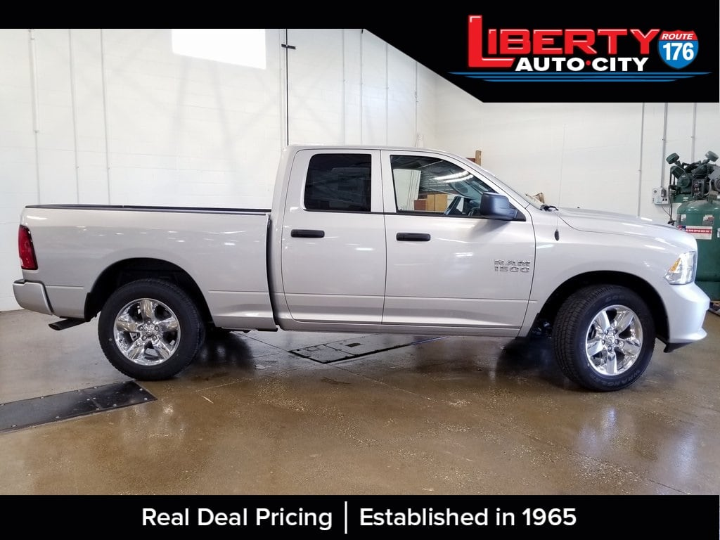 2018 Ram 1500 Quad Cab 4x4,  Pickup #618186 - photo 8