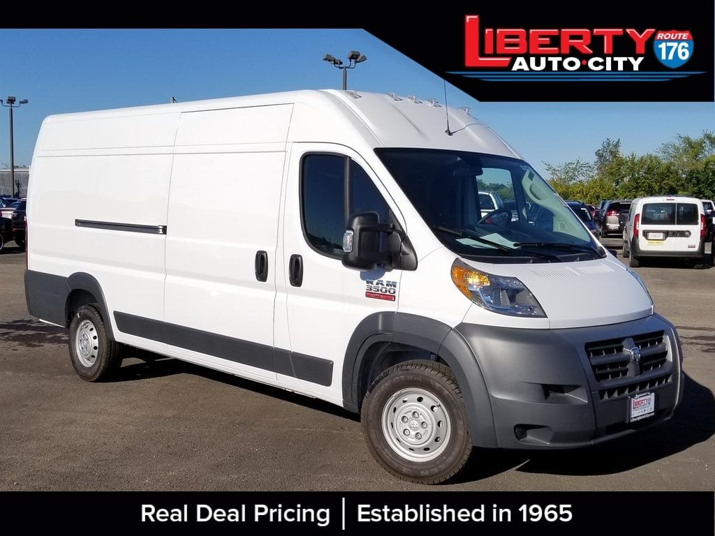 2018 ProMaster 3500 High Roof FWD,  Empty Cargo Van #618240 - photo 1