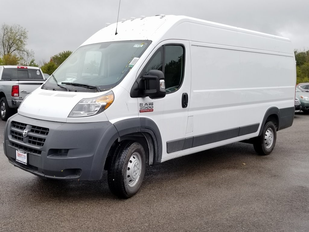 2018 ProMaster 3500 High Roof FWD,  Empty Cargo Van #618253 - photo 4