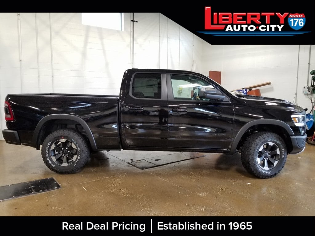 2019 Ram 1500 Quad Cab 4x4,  Pickup #619028 - photo 8