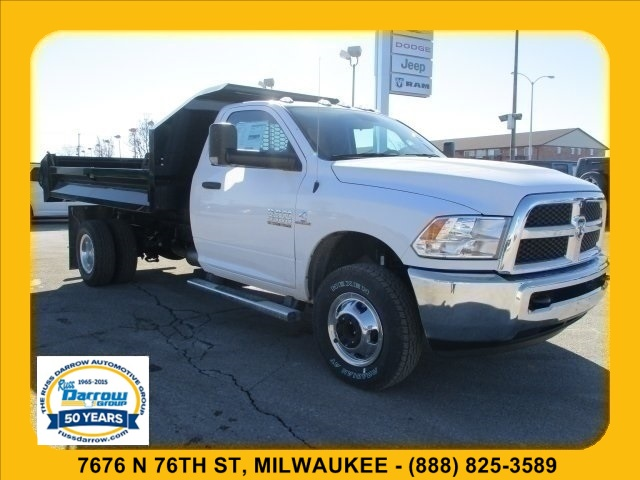 2018 Ram 3500 Regular Cab DRW 4x4, Dump Body #R18047 - photo 3