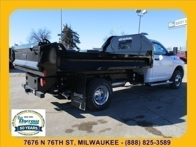 2018 Ram 3500 Regular Cab DRW 4x4, Dump Body #R18047 - photo 4