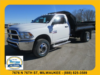 2018 Ram 3500 Regular Cab DRW 4x4, Dump Body #R18047 - photo 1