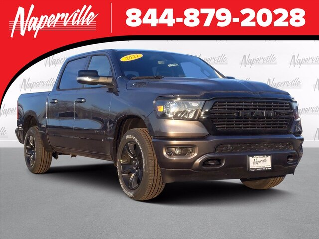 2021 Ram 1500 Crew Cab 4x4, Pickup #21-D8043 - photo 1