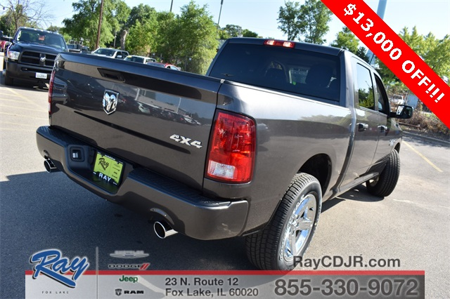 2018 Ram 1500 Crew Cab 4x4,  Pickup #R1311 - photo 4