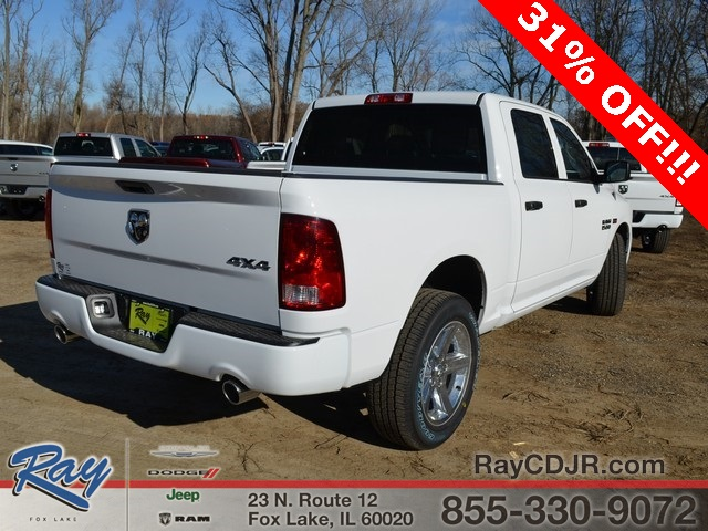 2018 Ram 1500 Crew Cab 4x4,  Pickup #R1313 - photo 2