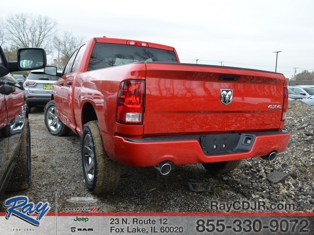 2018 Ram 1500 Quad Cab 4x4,  Pickup #R1315 - photo 8