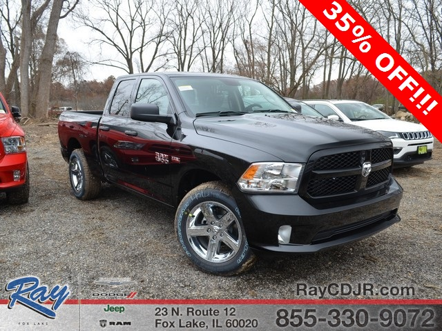 2018 Ram 1500 Quad Cab 4x4,  Pickup #R1316 - photo 4