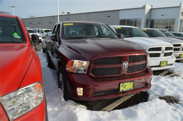 2018 Ram 1500 Quad Cab 4x4, Pickup #R1332 - photo 8