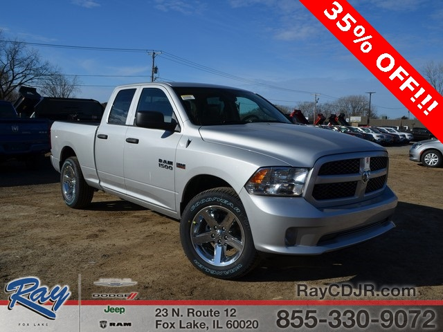 2018 Ram 1500 Quad Cab 4x4,  Pickup #R1333 - photo 4