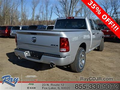 2018 Ram 1500 Quad Cab 4x4,  Pickup #R1333 - photo 2