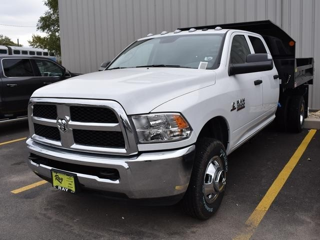 2018 Ram 3500 Crew Cab DRW 4x4,  Monroe Dump Body #R1563 - photo 4