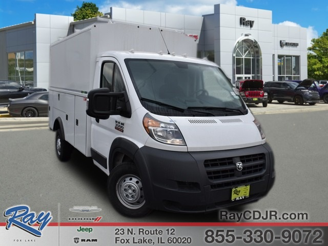 2018 ProMaster 3500 Standard Roof FWD,  Reading Aluminum CSV Service Utility Van #R1594 - photo 1