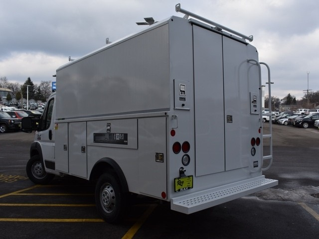 2018 ProMaster 3500 Standard Roof FWD,  Reading Service Utility Van #R1594 - photo 5