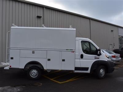 2018 ProMaster 3500 Standard Roof FWD,  Reading Aluminum CSV Service Utility Van #R1594 - photo 3