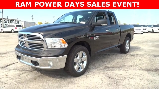 2017 Ram 1500 Quad Cab 4x4 Pickup #D171176 - photo 1