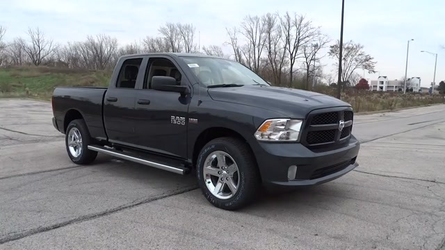 2018 Ram 1500 Quad Cab 4x4 Pickup #D180180 - photo 3