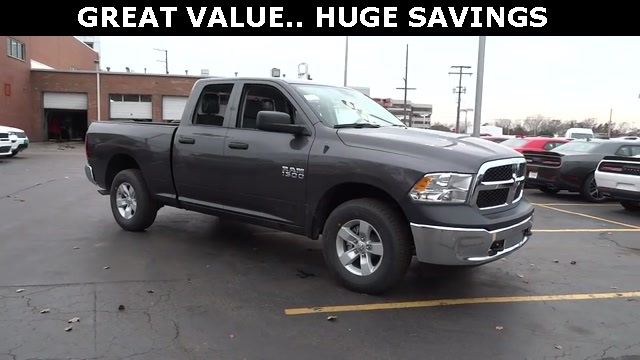 2018 Ram 1500 Quad Cab 4x4, Pickup #D180191 - photo 4
