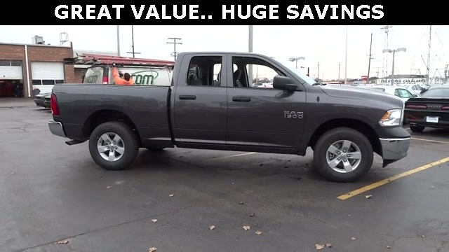 2018 Ram 1500 Quad Cab 4x4, Pickup #D180191 - photo 5