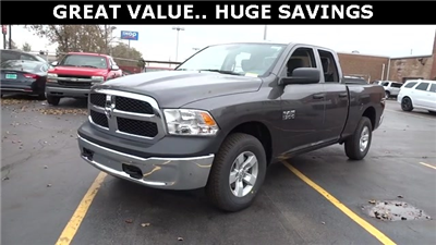 2018 Ram 1500 Quad Cab 4x4, Pickup #D180191 - photo 1
