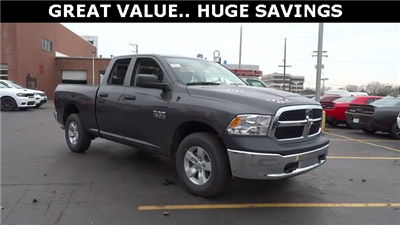 2018 Ram 1500 Quad Cab 4x4, Pickup #D180191 - photo 3