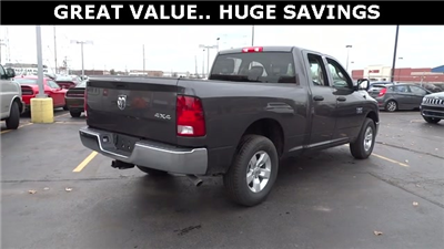2018 Ram 1500 Quad Cab 4x4, Pickup #D180191 - photo 14