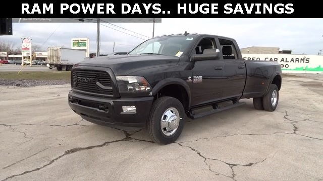 2018 Ram 3500 Crew Cab DRW 4x4, Pickup #D180214 - photo 1