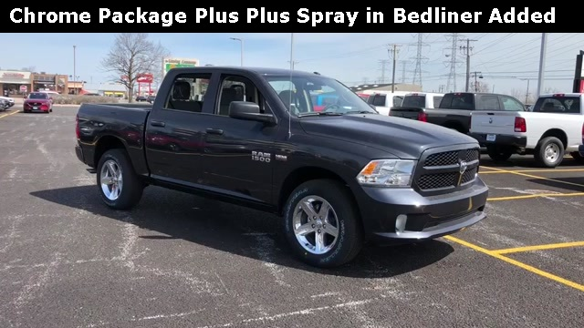 2018 Ram 1500 Crew Cab 4x4,  Pickup #D180709 - photo 3