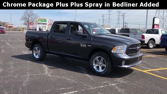 2018 Ram 1500 Crew Cab 4x4,  Pickup #D180709 - photo 4