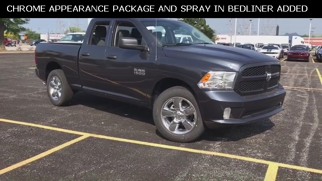 2018 Ram 1500 Quad Cab 4x4,  Pickup #D181086 - photo 3