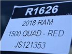 2018 Ram 1500 Quad Cab 4x4, Pickup #R1626 - photo 34