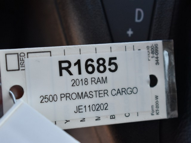 2018 ProMaster 2500 High Roof, Cargo Van #R1685 - photo 22
