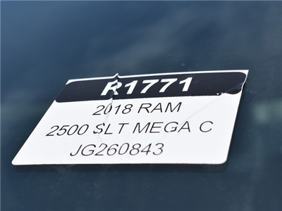 2018 Ram 2500 Mega Cab 4x4, Pickup #R1771 - photo 27