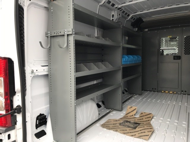 2018 ProMaster 2500 High Roof FWD,  Adrian Steel Upfitted Cargo Van #W8047 - photo 11