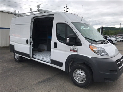 2018 ProMaster 2500 High Roof FWD,  Adrian Steel General Service Upfitted Cargo Van #W8047 - photo 13