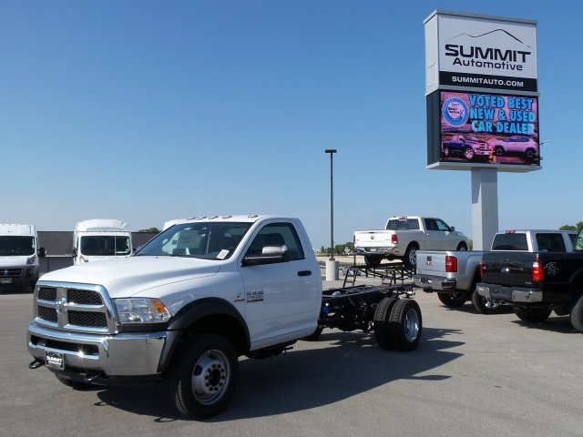2017 Ram 5500 Regular Cab DRW 4x4,  Cab Chassis #7T439 - photo 1