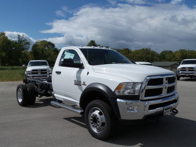 2017 Ram 5500 Regular Cab DRW 4x4 Cab Chassis #7T445 - photo 1