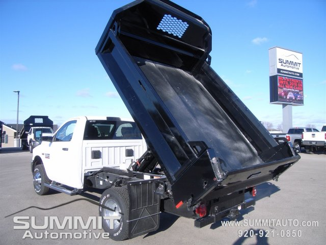 2018 Ram 3500 Regular Cab DRW 4x4,  Knapheide Dump Body #8T47 - photo 10