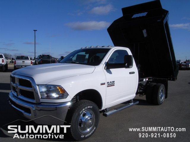 2018 Ram 3500 Regular Cab DRW 4x4,  Knapheide Dump Body #8T47 - photo 12
