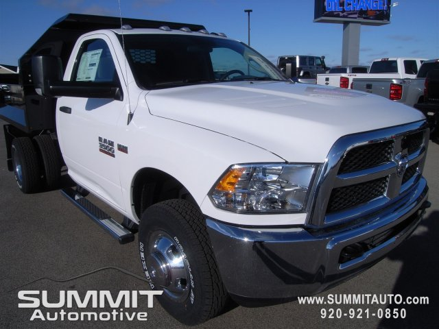 2018 Ram 3500 Regular Cab DRW 4x4, Dump Body #8T47 - photo 3