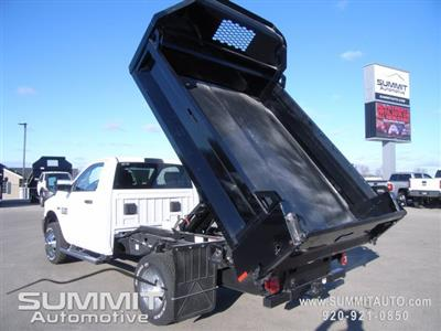 2018 Ram 3500 Regular Cab DRW 4x4, Dump Body #8T47 - photo 10