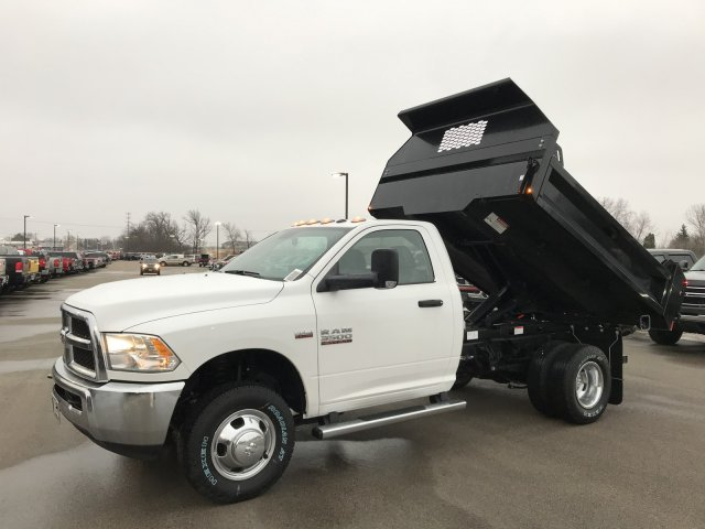 2018 Ram 3500 Regular Cab DRW 4x4,  Dump Body #8T49 - photo 1