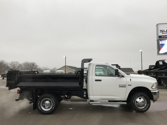 2018 Ram 3500 Regular Cab DRW 4x4,  Knapheide Dump Body #8T49 - photo 11