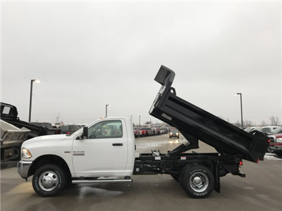 2018 Ram 3500 Regular Cab DRW 4x4,  Dump Body #8T49 - photo 10