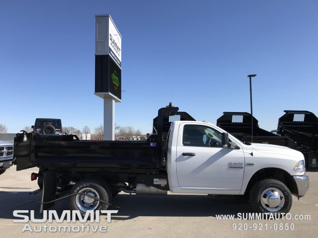 2018 Ram 3500 Regular Cab DRW 4x4,  Knapheide Dump Body #8T71 - photo 20