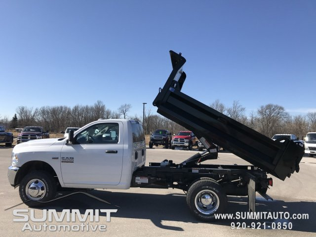 2018 Ram 3500 Regular Cab DRW 4x4,  Knapheide Dump Body #8T71 - photo 2