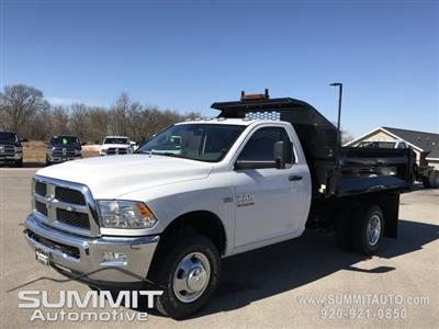 2018 Ram 3500 Regular Cab DRW 4x4,  Knapheide Rigid Side Dump Body #8T71 - photo 1