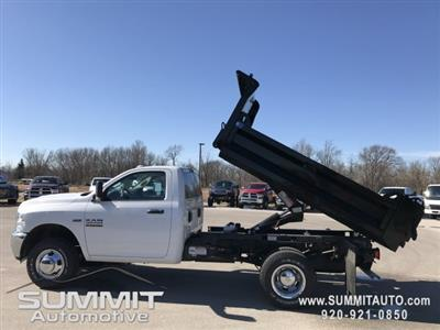 2018 Ram 3500 Regular Cab DRW 4x4,  Knapheide Rigid Side Dump Body #8T71 - photo 2