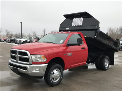 2018 Ram 3500 Regular Cab DRW 4x4,  Knapheide Rigid Side Dump Body #8T75 - photo 1