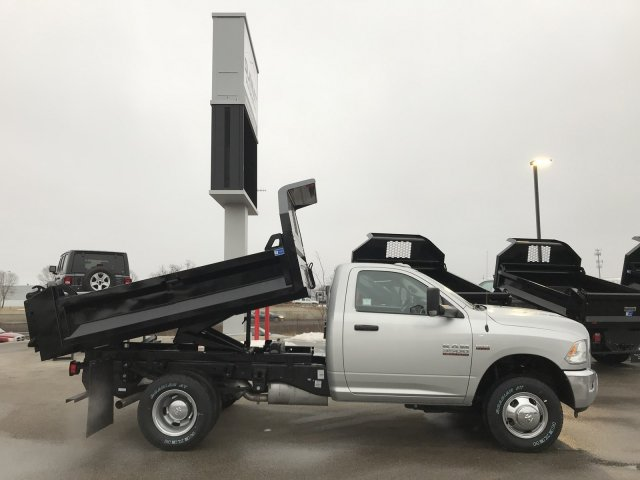 2018 Ram 3500 Regular Cab DRW 4x4, Dump Body #8T76 - photo 10